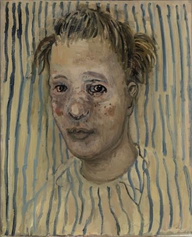 Hannah van Bart portrait painting