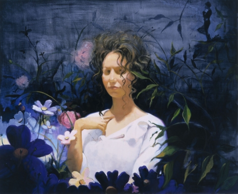 Dark Garden II, 2003, Oil on linen