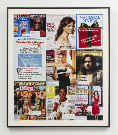 magazine cover compilation by john waters