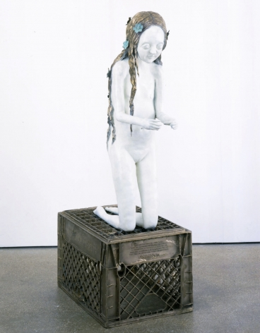 Little Girl, 2003, Bronze with patina