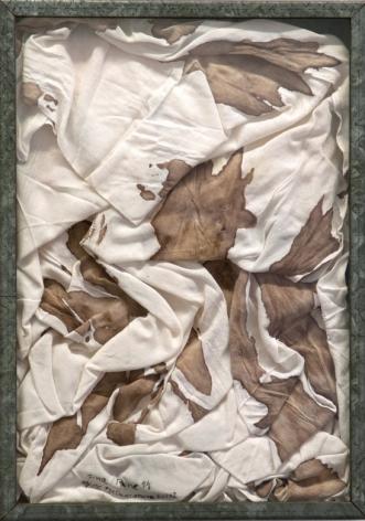 "Gina Pane, Action relic of ""Azione Melanconica"", 1974"