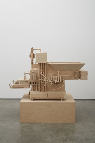 Machine of Indeterminacy, 2014 , Maple