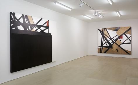 Morphings in BLACK(Installation View), BOESKY EAST, 2014