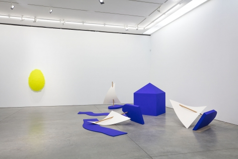 Painting/Sculpture(Installation View), Marianne Boesky Gallery,2019