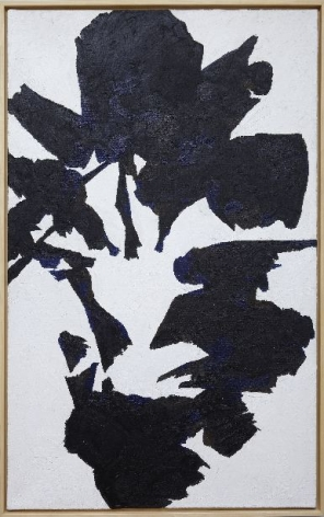Jack Youngerman, Black White, 1955
