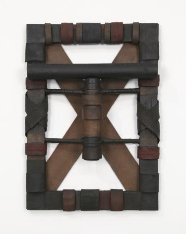 a sculpture by arte povera artist salvatore scarpitta