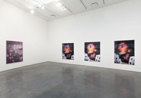 Snow(Installation View), Marianne Boesky Gallery, 2014