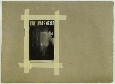 Kianja Strobert Limit of Art I, 2006, Ink, graphite and chalk on press paper