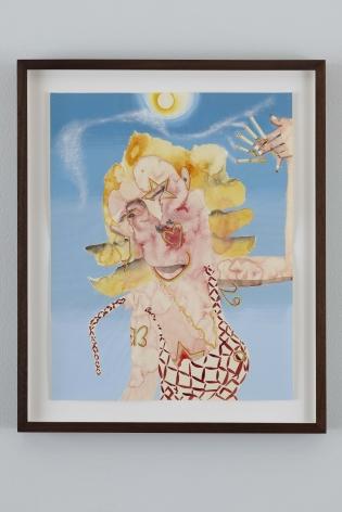 Summer Smoker II, 2010, Watercolor on paper