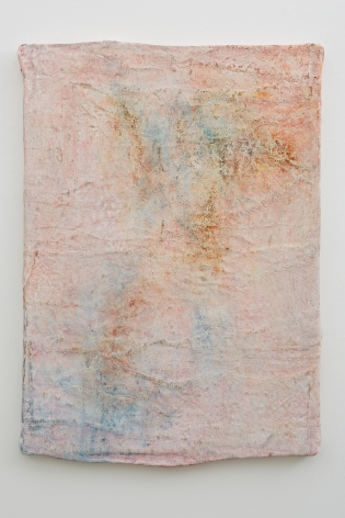 a painting on burlap by jay heikes available for purchase through marianne boesky gallery