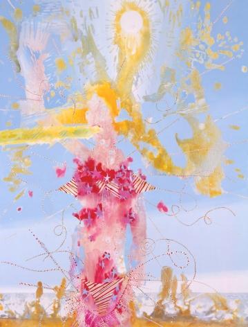 Untitled (Euridici), 2005, Mixed media on linen