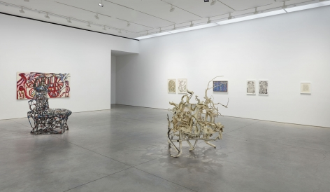 I Talk With The Spirits (Installation View), Marianne Boesky Gallery, 2016