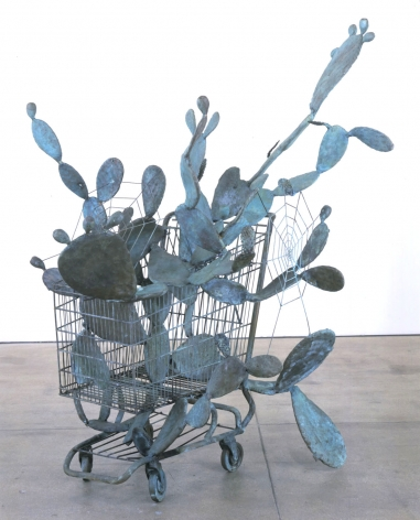 The Shopping Cart, 2003, Bronze