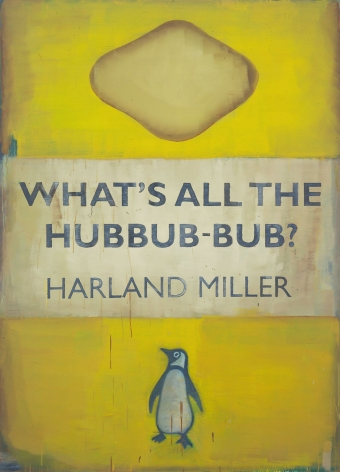 imitation of a penguin books cover by harland miller