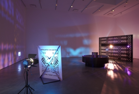 Depiction of a Star Obscured by Another Figure(Installation View), Marianne Boesky Gallery, 2011