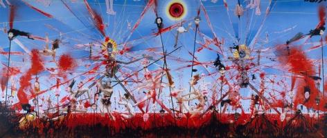 Apocalypse, 2005, Urethane on linen