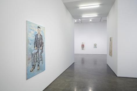 Hannah Van Bart(Installation View), Marianne Boesky Gallery, 2014