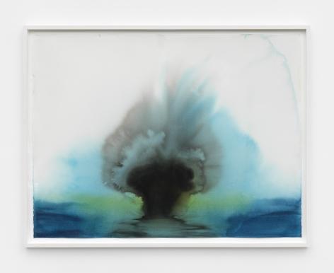 Thiago Rocha Pitta, portrait of a breathing stromatolite, 2018
