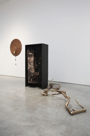 Jay Heikes: Like a Broken Record(Installation View), Marianne Boesky Gallery, 2007