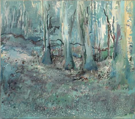 landscape painting by Dutch artist Hannah van Bart