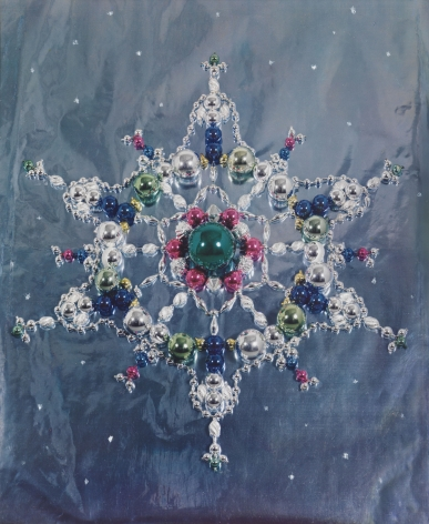 Holiday Jewels (Christmas Ornaments), 1937, Color carbo print