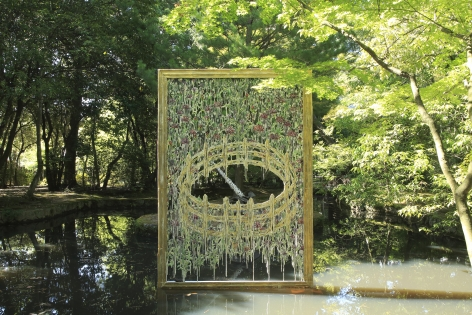 a work based on the Cloister's Unicorn Tapestries by Diana Al-Hadid