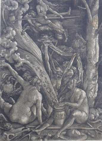 Hans Baldung, The Witches, 1510
