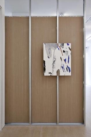 Material Evidence (Wall), 2014, Acrylic on linen