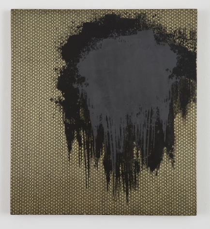 Untitled, 2012, Silkscreen ink and marquetry on wood