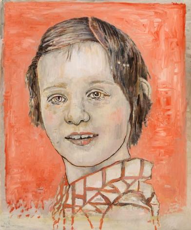 Girl, 2010, Alkydoil on linen