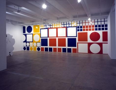 Crisp(Installation View) Marianne Boesky Gallery, 2002