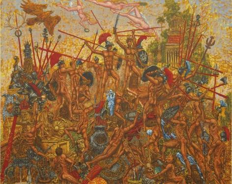 JP Munro, The Trojan War, 2008