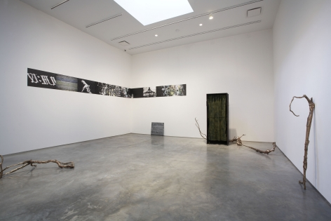 Like a Broken Record, 2007, Installation view