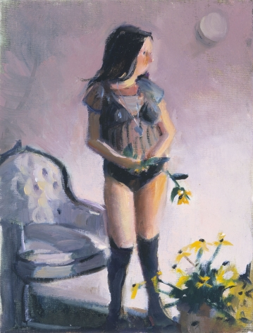 Wee Babie II, 2003, Oil on canvas board