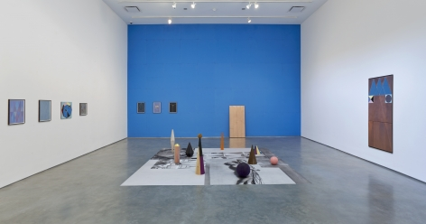 exhibition of artwork by claudia wieser in a new york gallery