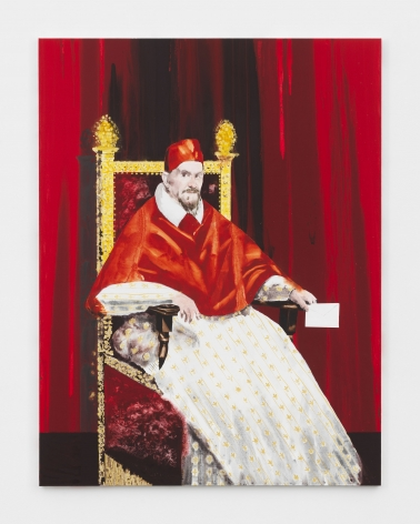Barnaby Furnas, Pope Innocent X (After Velázquez), 2018
