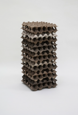 found object sculpture by contemporary artist Bjorn Braun