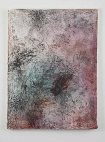 Margin Walker, 2011, Paper, aluminum, dry pigment, ink & wood