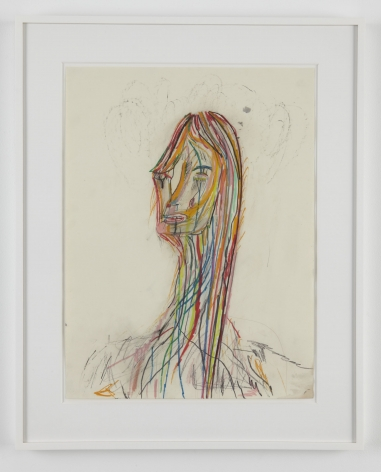 Untitled, 2009, Colored pencil and ink on paper
