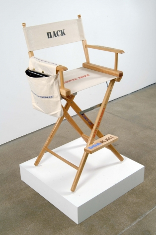 wood and canvas directors chair by john waters