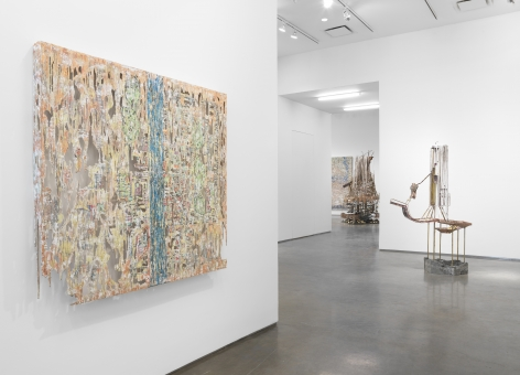 FALCON'S FORTRESS(Installation View), Boesky Gallery, 2017