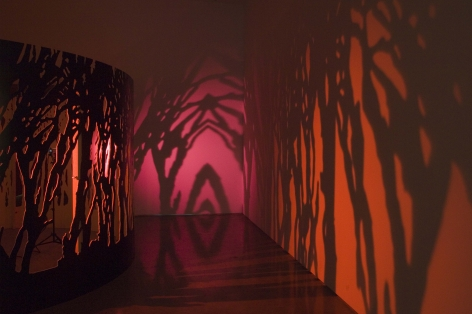 The Quickening, 2006, Ring of Trees [Installation View]