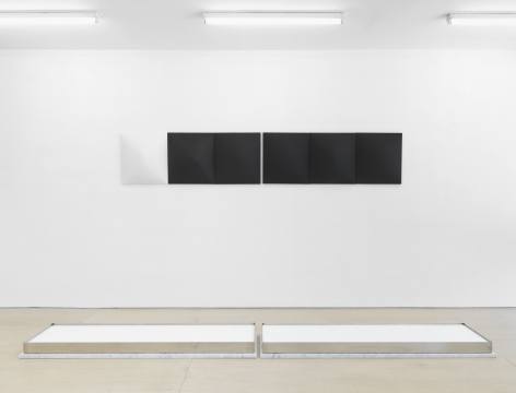 A Long, Narrow Mark (Installation View), BOESKY EAST, 2015