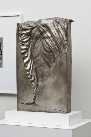 rectangular bronze sculpture by anthony pearson
