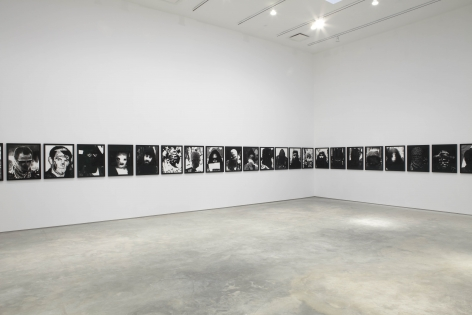 Without Name (Installation View), Marianne Boesky Gallery, 2010