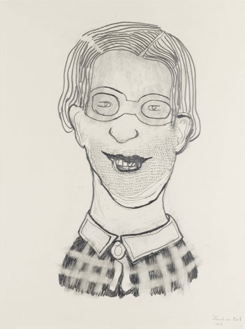 Untitled, 2006, Graphite on paper