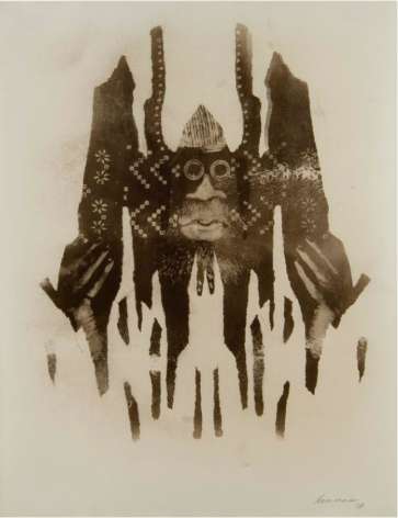 David Hammons, Untitled (Body Print), 1974