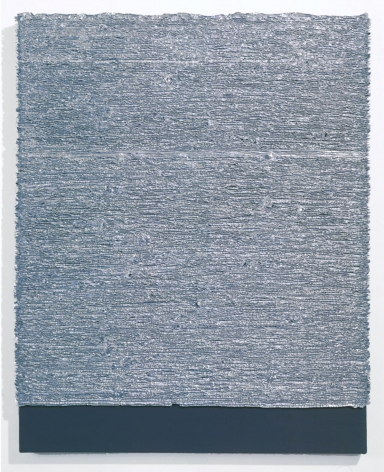 Grey square piece by donald moffett