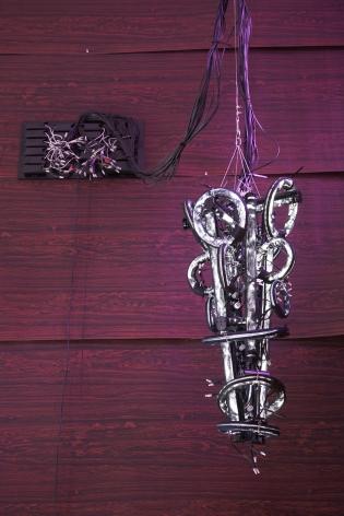 twisted chandelier by yuichi higashionna