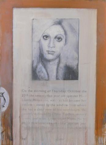 Lisette, 2004, Oil on canvas